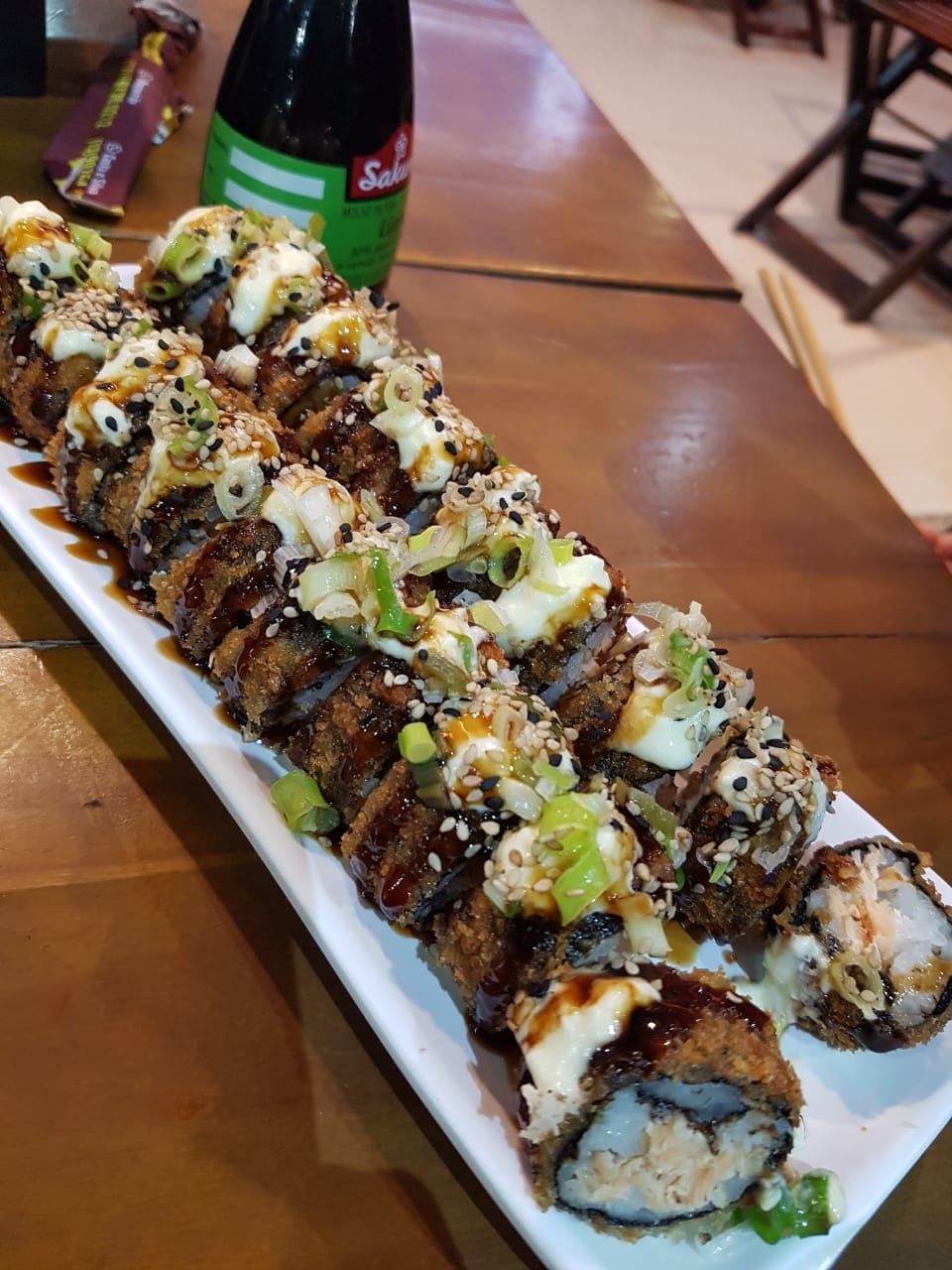 2 Hot Roll + 1 Temaki + 2 império 350ml
