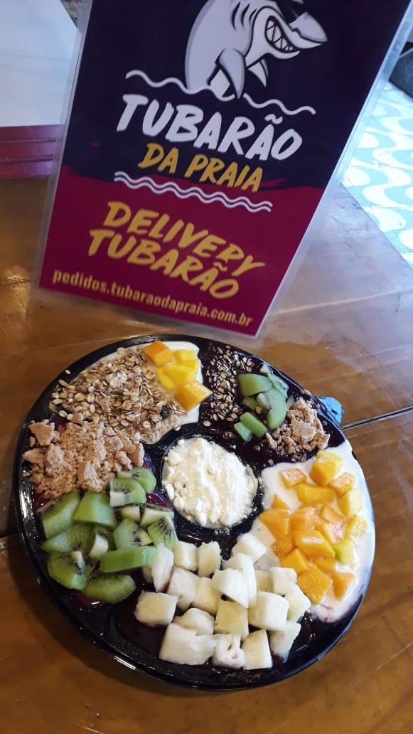 Roleta de Açaí , cupuaçu, pitaya e sorvete